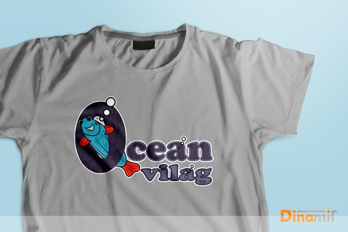 Óceán világ - logóterv
